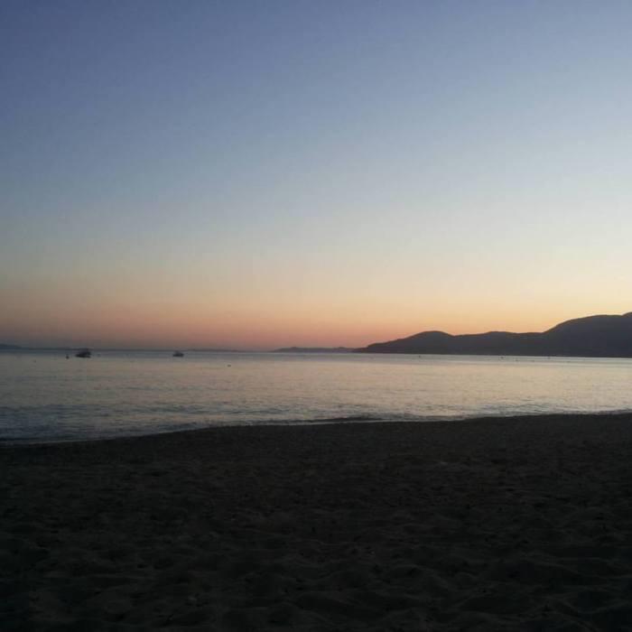 Gigaro, sunset