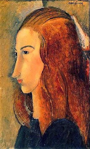 Jeanne Hébuterne ritratta da Modì