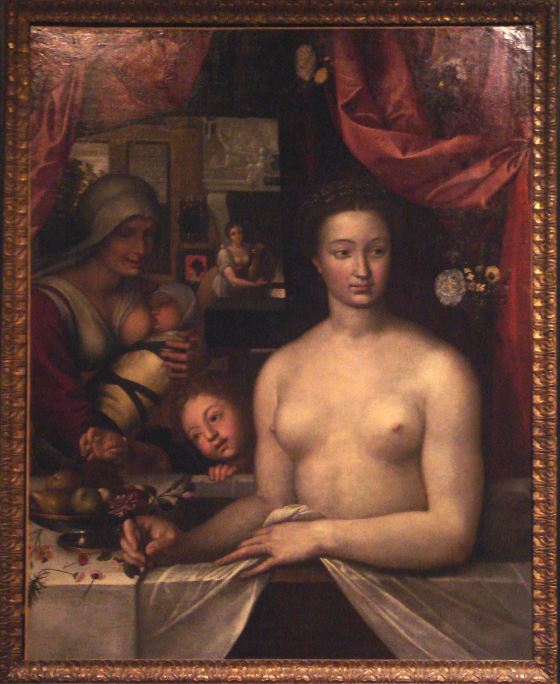 Dame_au_bain_Francois_Clouet_end_of_16th_century