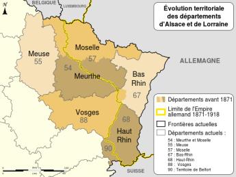 Evoluzione della regione
