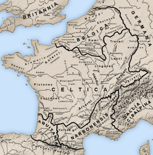 map-of-roman-gaul